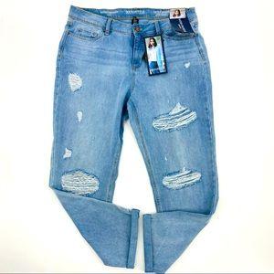 Sound/Style Distressed Hayden Girlfriend Jeans